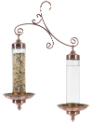 Copper Sip & Seed Bird Feeder