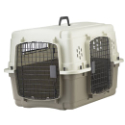 Pet Lodge™ Double Door Plastic Pet Crate