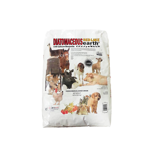 Red Lake Earth® Diatomaceous Earth - Coastal Ag Supply