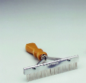 "Pro-Line 6"" Standard Grooming Comb with Wooden Handle 12200"