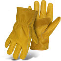 Boss® Grain Cowhide Leather Driver Gloves