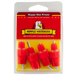 Happy Hen Treats® Nipple Waterers - Coastal Ag Supply