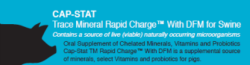 CAP-STAT Trace Mineral Rapid Charge™ with DFM for Swine