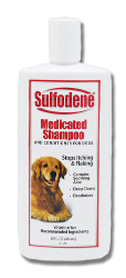 Sulfodene® Medicated Shampoo & Conditioner for Dogs