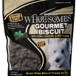 SPORTMiX® Wholesomes™ Gourmet Biscuit Treats with Bone Charcoal & Mint Flavor