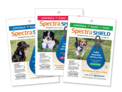 Spectra Shield™ Collar Attached Medallion