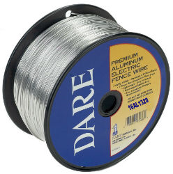 DARE Aluminum Electric Fence Wire