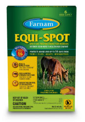 Equi-Spot® Spot-on Protection for Horses