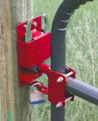 Tool Tuff Two-Way Lockable Gate Latch