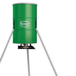 American Hunter Tripod Feeder with Solar Charger