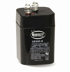 American Hunter Spring Top Rechargeable Battery