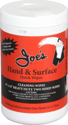 Joe's® Hand and Surface Quick Wipes