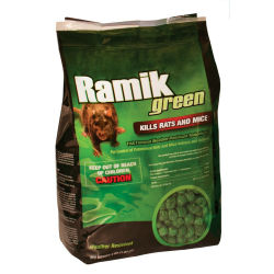 "Ramik® Green 1/2"" Nugget Pouch"