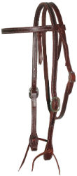Browband Burgundy Headstall