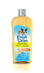 Fresh 'n Clean® Flea and Tick Conditioning Shampoo
