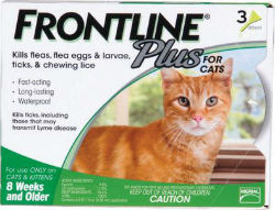 FRONTLINE® Plus for Cats - Coastal Ag Supply