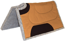 Canvas Top Horse Pad