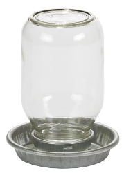 Little Giant™ Mason Jar Baby Chick Waterer