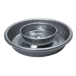 Screw on Round Metal Waterer Base 9826