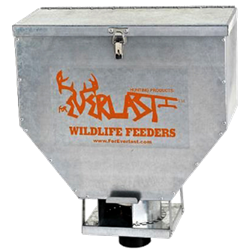 Foreverlast™ 100# Galvanized Tailgate Feeder - Coastal Ag Supply