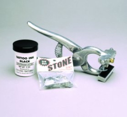 "Stone® Standard 3/8"" Tattoo Outfit - Coastal Ag Supply"