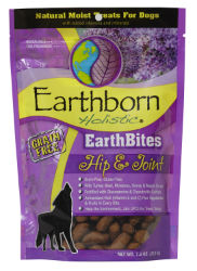 Earthborn Holistic® EarthBites™ Hip & Joint For dogs needing extra joint protection in their everyday lifestyles.