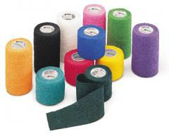 "Vetrap™ 4"" Bandaging Tape Assorted Color Pack"
