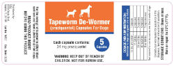Tapeworm De-Wormer for Dogs  - Coastal Ag Supply