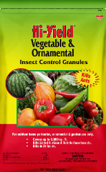 Hi-Yield® Vegetable & Ornamental Insect Control Granules