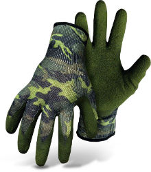 Boss® Flexi Grip™ Camo Latex Palm String Knit Gloves - Coastal Ag Supply